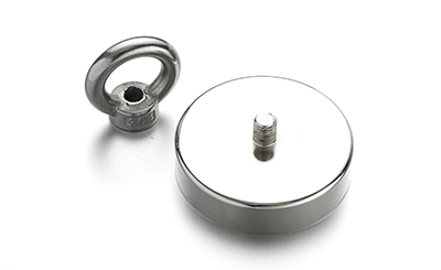 Neodymium (NdFeb) Pot Magnets